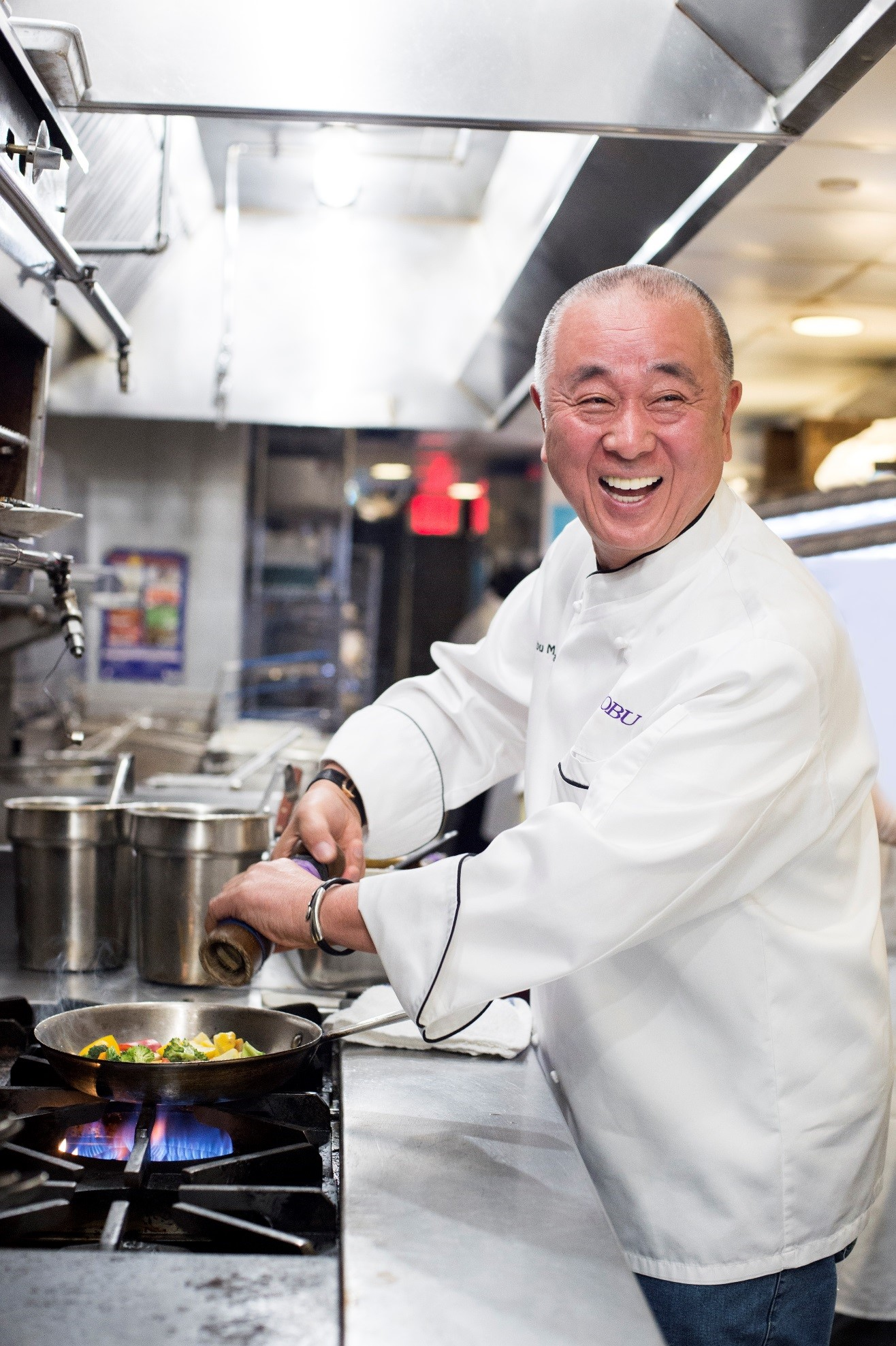 Chef Nobu in Tokyo  Chef Nobu's schedule for Tokyo has unfortunately been postponed until further notice due to the current travel restrictions.       松久来日予定  松久の来日スケジュールは現在の渡航規制により延期させていただいております。 予定が決まり次第改めてご案内いたします。